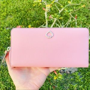 Kate Spade Neda Large Continental Wallet Pink